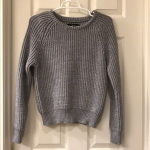 Forever 21 Gray Knit Sweater Small